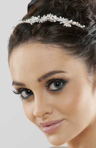 Alexia Crystal and Pearl Headband, Tiara